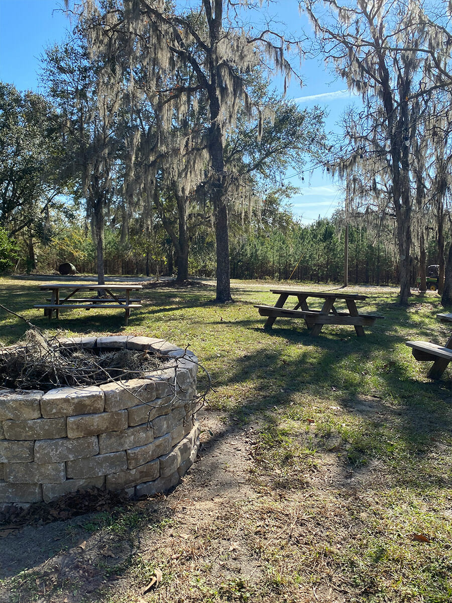 The Homestead Barn Fire Pit