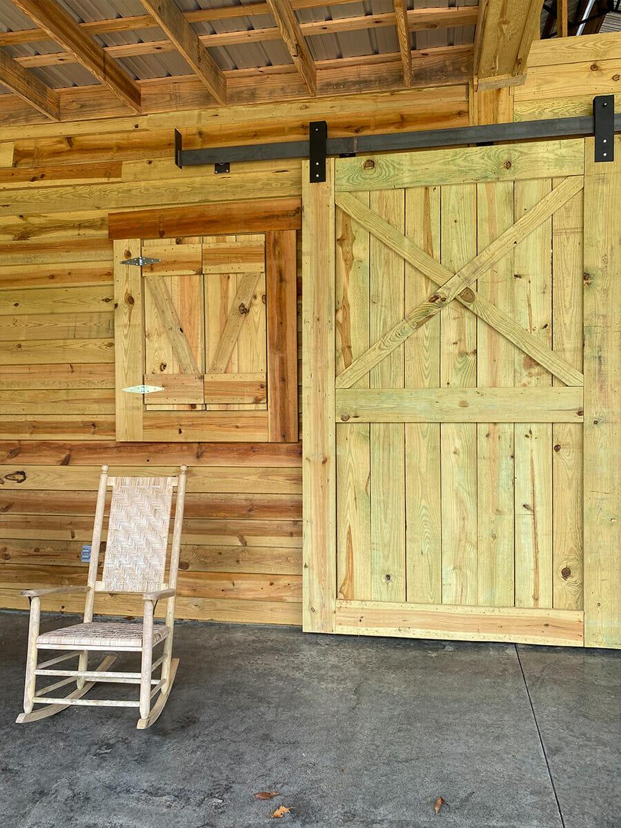 The Homestead Barn Door